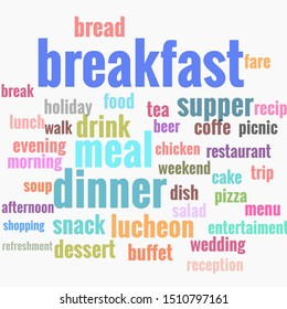 nutrition word cloud. Wordcloud made with text only.