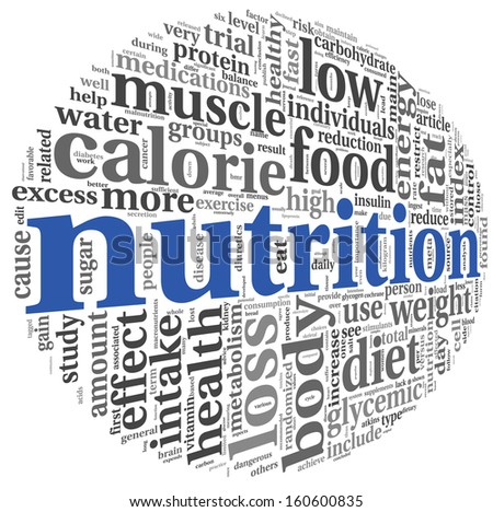 nutrition words concept tag cloud on stock illustration 160600835