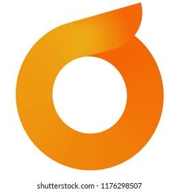 O letter logo