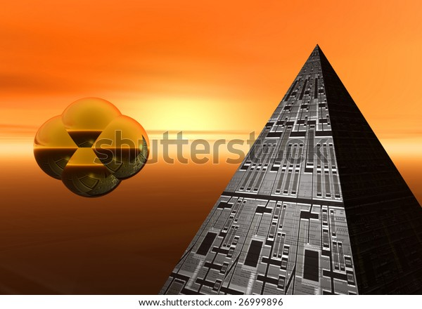 object and pyramid
