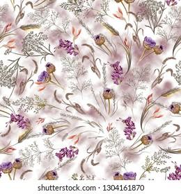 Obsolescent Floral Pattern 2