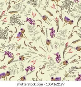 Obsolescent Floral Pattern 3