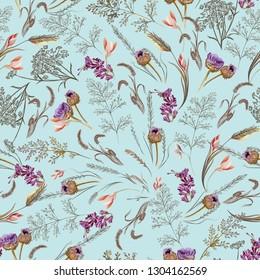 Obsolescent Floral Pattern 4