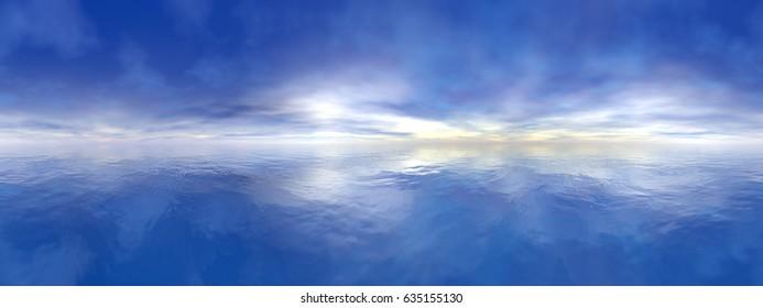 Ocean - 3D render