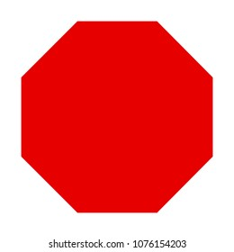Octagon Shape Template | Octagonal Shape Images Stock Photos Vectors Shutterstock