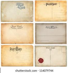 O;d postcard