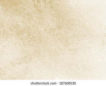 Off White Background Brown Beige Or Tan Color Design With Rough Vintage Grunge Texture