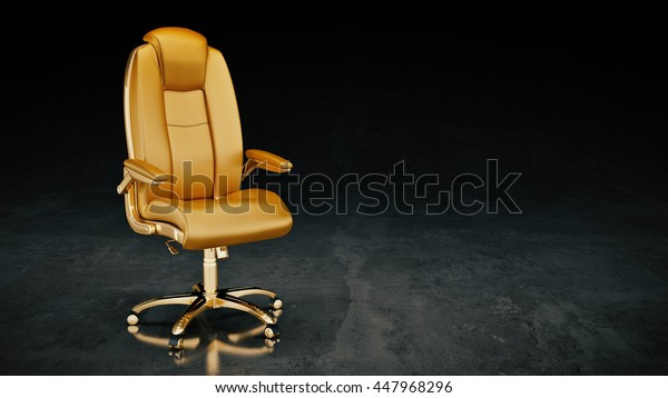 office chair. concept business. 3d rendering