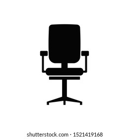 Office chair icon. Chair icon. Business furniture for modern web and mobile design concept.