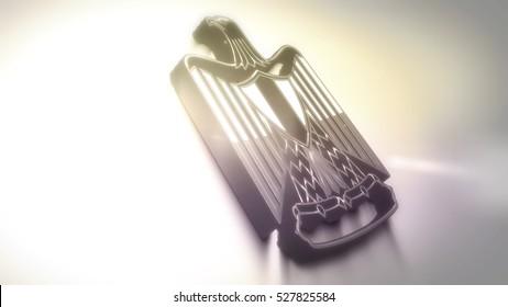 Official Egyptian Eagle Flag