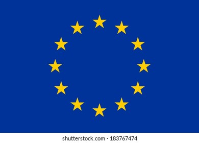 Official flag of European Union (EU)