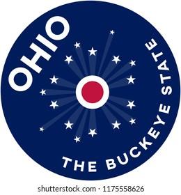 ohio: the buckeye state | digital badge