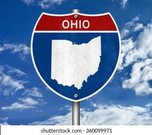 Ohio interstate sign concept