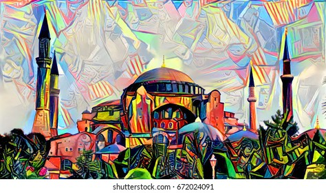 Turkish Painting Images, Stock Photos & Vectors | Shutterstock