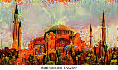 Turkish Painting Images, Stock Photos & Vectors | Shutterstock