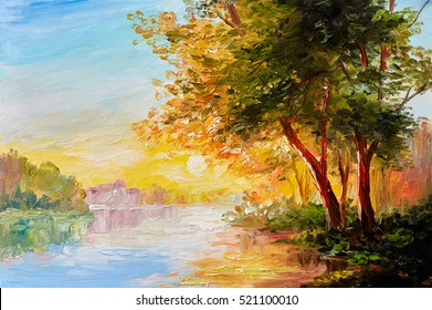 Landscape Painting Images Stock Photos Amp Vectors