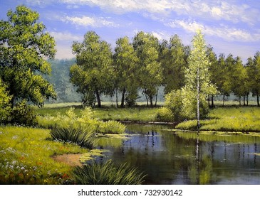 Landscape Painting High Res Stock Images Shutterstock
