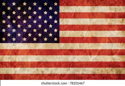Old 1960 flag of USA, USA flag for USA Independence Day, USA The Stars and Stripes flag, USA Old Glory flag, USA Star Spangled Banner flag