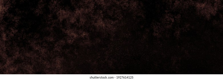 Old antique dark brown background, grunge illustration in earthy surface color