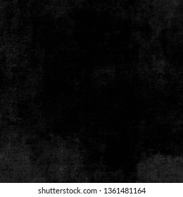 Old black background. Grunge texture. Dark wallpaper. Blackboard