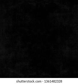 Old black background. Grunge texture. Dark wallpaper.