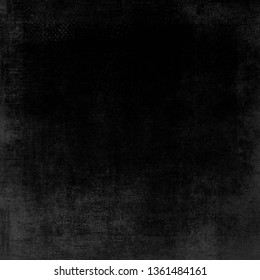 Old black background. Grunge texture. Dark wallpaper. Blackboard. Abstract Pattern