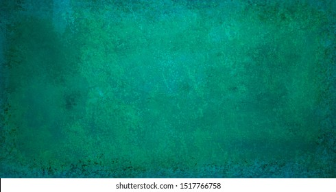 old blue green background with vintage distressed texture that is messy scuffed and aged in a classy elegant design