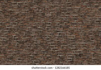 old brick wall 3d illustration 40x29cm 300dpi