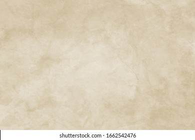 old brown background with antique grunge paper texture or stone wall texture with distressed faded cracks in beige tan color