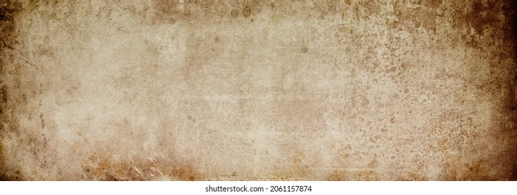 Old brown grunge background with spots for design and text