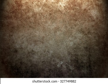 Old brown texture background. Horror background