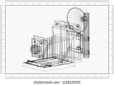 Old Camera Architect blueprint -