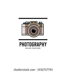 Old Camera digital Photography Logo
