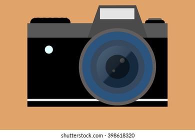Old camera illustration
