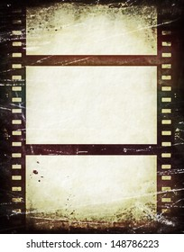 Old film roll background