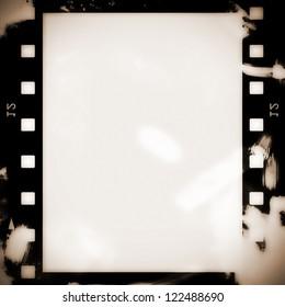 Old film strip background, texture