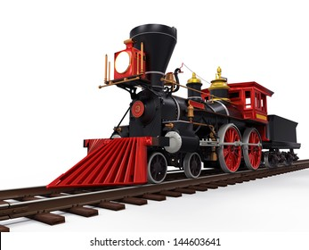 Old Locomotive Train