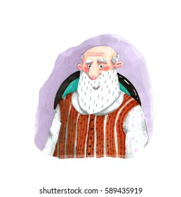 Old Man in a Vest