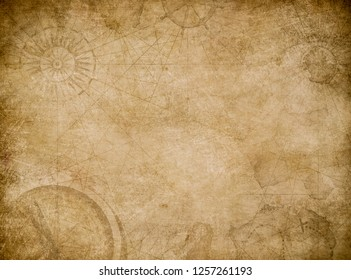 old map abstract vintage background