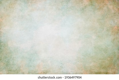 Old paper background illustration with soft blurred watercolor texture.