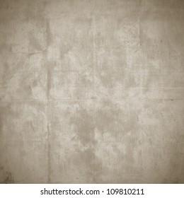 old paper texture, brown grunge background with dark vignette