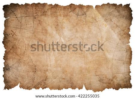 old pirates treasure map
