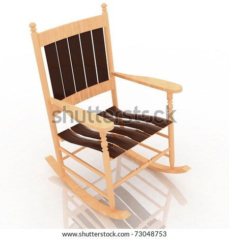 Amazing Royalty Free Stock Illustration Of Old Rocking Chair Machost Co Dining Chair Design Ideas Machostcouk