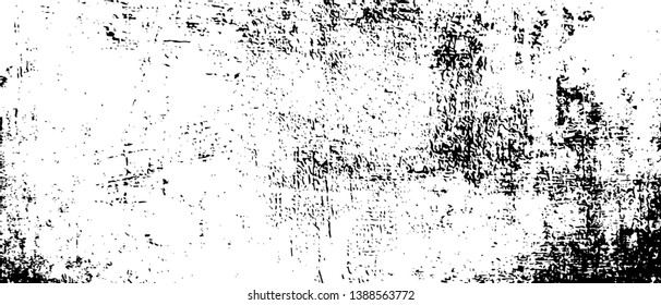 Old Ultrawide Grunge Seamless Black and White Texture. Old Ultrawide Grunge Seamless Dark Grunge Texture. Old Weathered Overlay Pattern Sample. Widescreen Background Dark Overlay Pattern