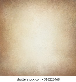 old vintage paper background. off white background with pale golden brown border texture and soft lighting. neutral background