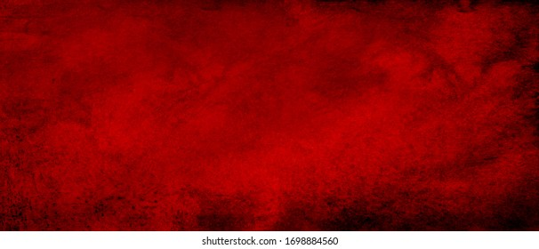 Old vintage retro red background texture