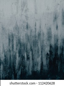 old wall texture painted in black and gray colors streaks as abstract grunge background