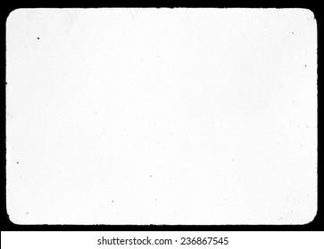 old  white paper grunge spot vignette lens black edge frame vintage