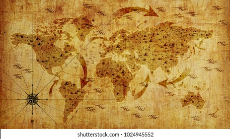 1000 World Map Wall Paper Stock Images Photos Vectors