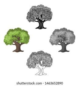 Olive Tree.Olives single icon in cartoon style bitmap symbol stock illustration web.